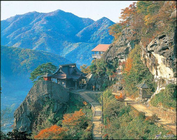 Risshaku-ji (Yamadera) (C) Yamagata Prefecture / JNTO