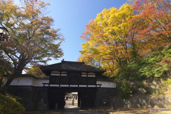 The entrance of Kaikoen (C) Nagano Prefecture / JNTO