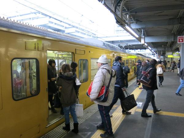 Local train at track #1