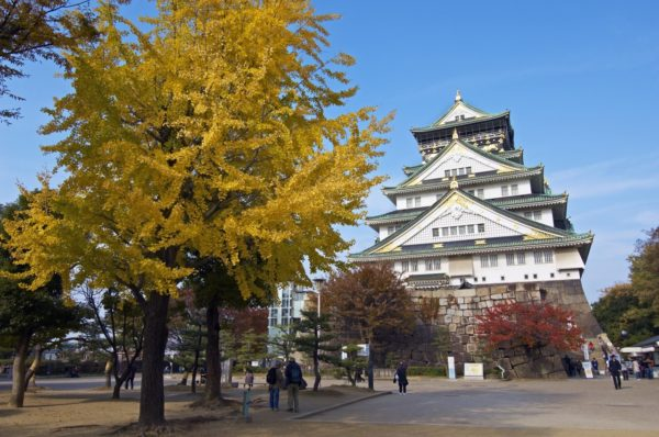 Osaka castle, icon of Osaka (C) Osaka Government Tourism Bureau / JNTO